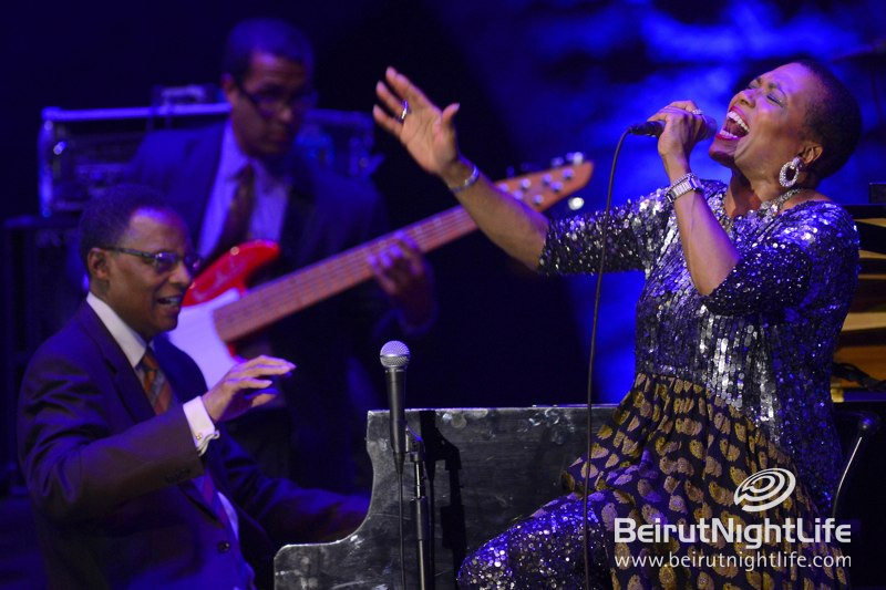 Dee Dee Bridgewater and Ramsey Lewis at Beiteddine Festival