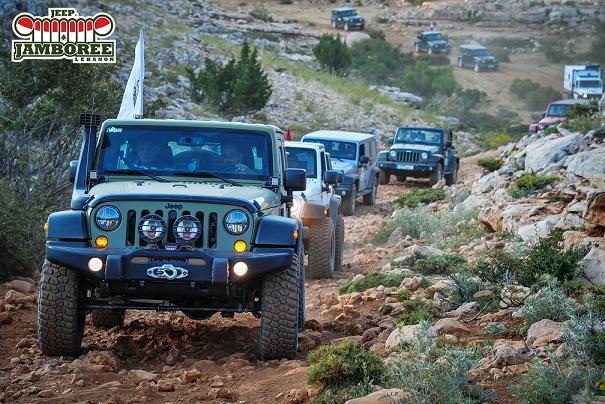 Gargour Automotive Company's Inaugural Jeep® Jamboree is a Major Success
