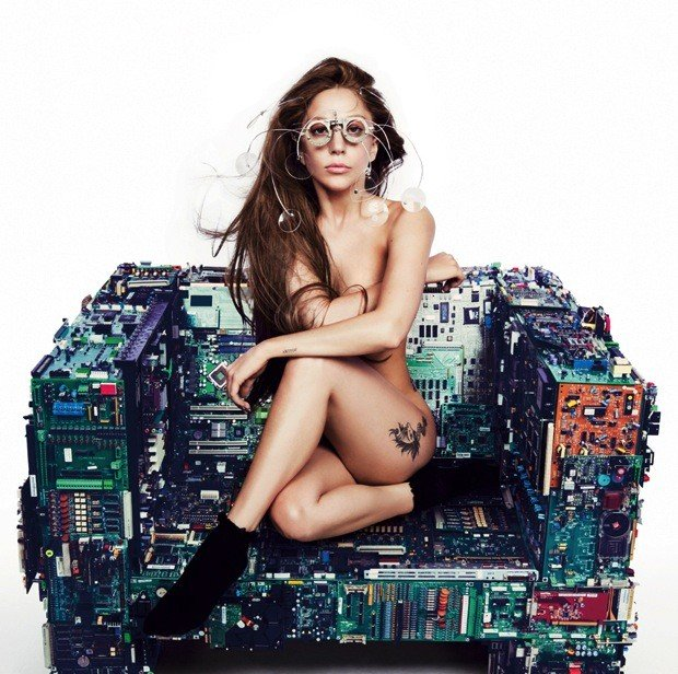 Lady Gaga: Nude For ARTPOP, Little Monsters Everywhere