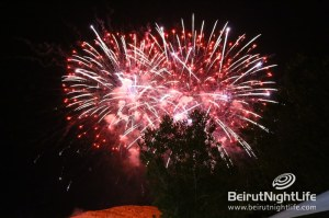 St. Mary's Fireworks Light up the Mzaar Summer Festival