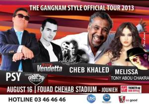 The Gangnam Style Official Tour 2013