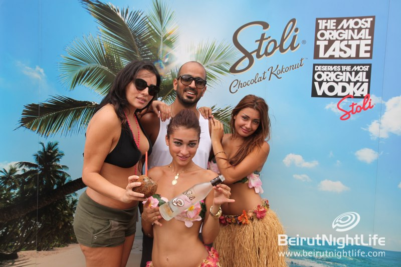 Stoli launches the new Chocolate Kokonut flavor at C Flow… Summer's best tastes combined!