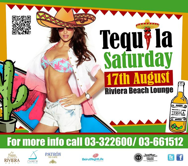 Tequila Saturday at Riviera Beach