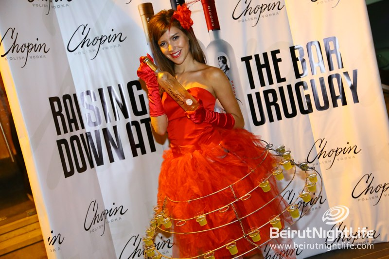 Chopin Vodka's Luxurious Happy Hour at Uruguay Street