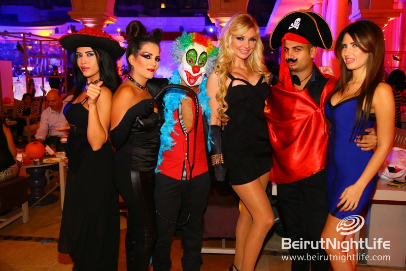 Halloween and Closing Party at Amethyste Lounge Phoenicia