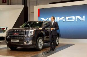 GMC Introduces the All-New, More-Capable 2015 Yukon at the 2013 Dubai International Motorshow