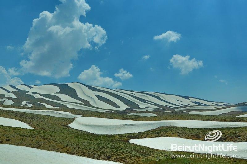 Magnificent First Snow in Faraya