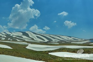 Magnificent First Snow in Faraya