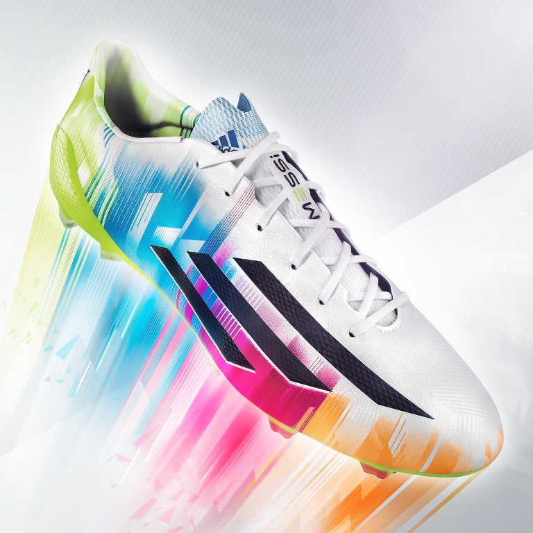 adidas launch new adizeroTM f50 Messi boots & UEFA Champions League Finale Lisbon Official Match Ball