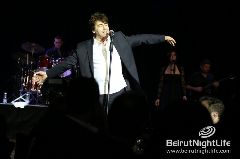 Star-studded Gala Dinner and Concert by Claude Barzotti at Casino Du Liban