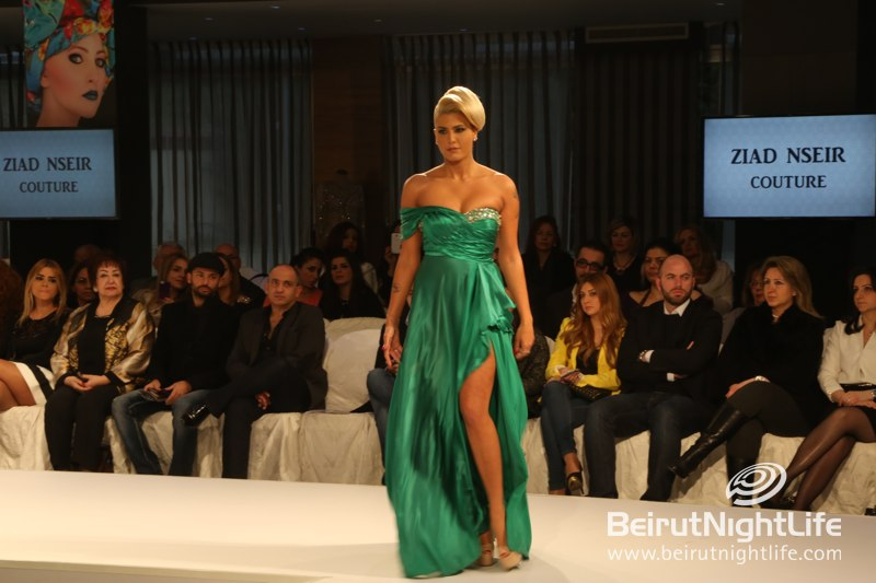 Ziad Nseir Gowns at Dresses and Tresses Fashion Show by L.I.P.S.