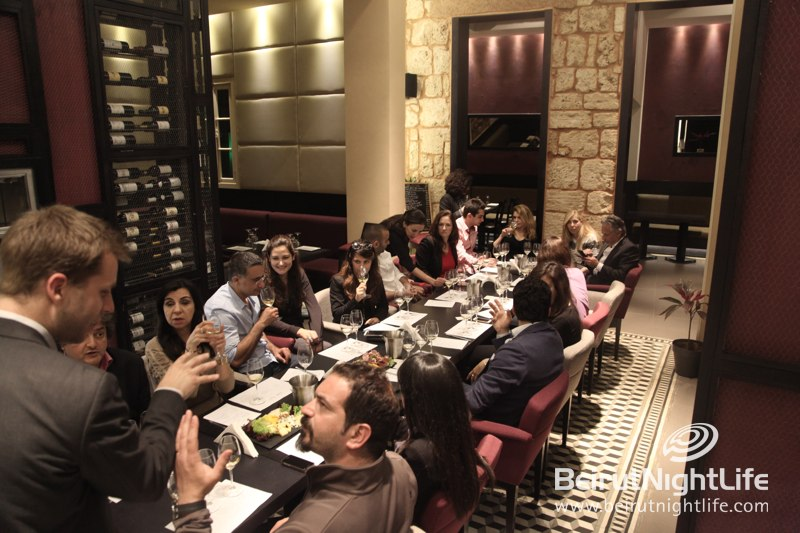 Wine Tasting at Rouge Bordeaux in Gemmayze