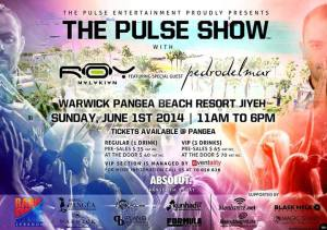Win Tickets to The Pulse Show with Roy Malakian at Warwick Pangea Beach Resort