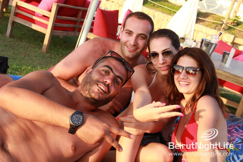Damour Beach has that Summertime Madness!