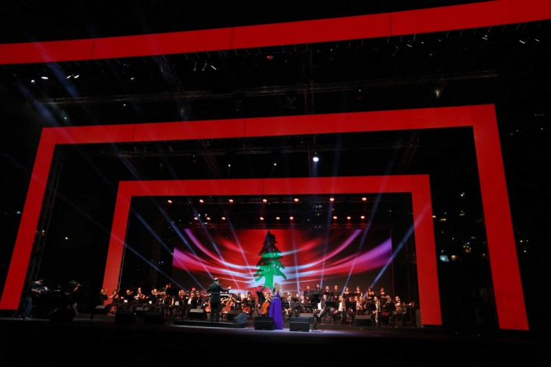 Elias Rahbani Special Concert Captivated Audiences at the Jounieh International Festival 2014