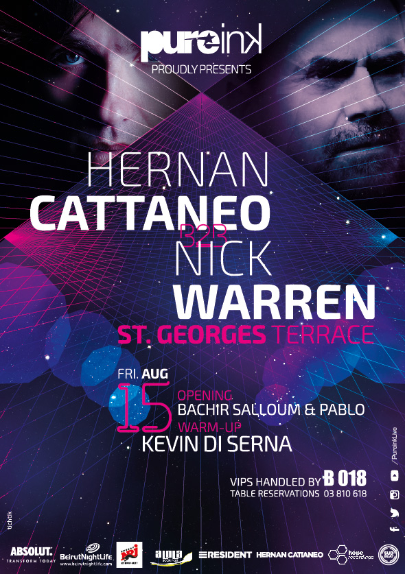 We Can't Wait for Legends Hernan Cattaneo & Nick Warren!