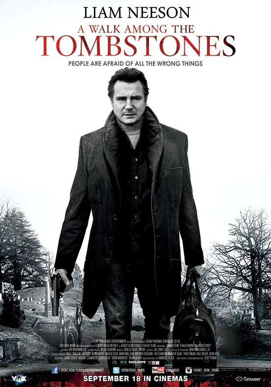 Win Free Tickets for A Walk Among the Tombstones at VOX Cinemas