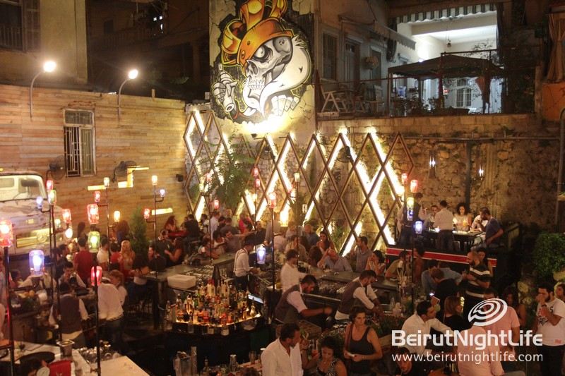 The Hot New Hangout: Junkyard Beirut