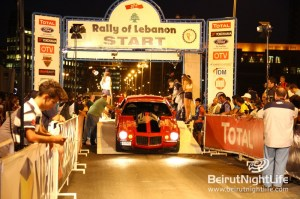 Thrills at the Rally of Lebanon Sponsored by Total Liban