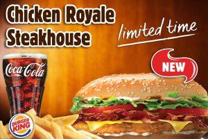 BURGER KING® Lebanon reveals the new Chicken Royal Steakhouse® sandwich
