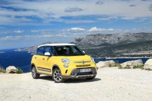 A trendy and youthful family car, the Italian way… Fiat 500L Trekking hits the roads of Lebanon!