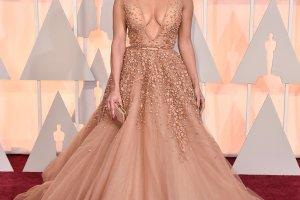 Lebanese Designer Gowns Dazzle at Oscars 2015