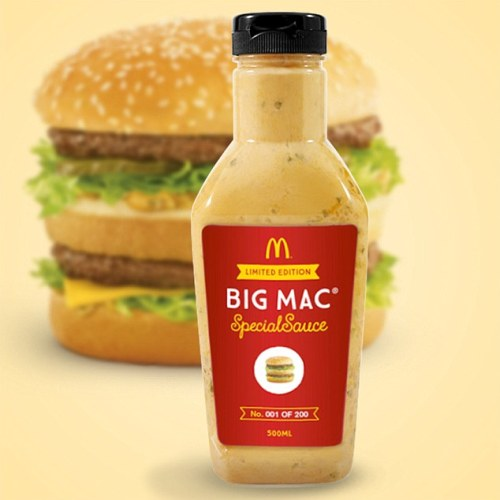 McDonald's To Finally Bottle And Sell Their 'Big Mac Sauce'