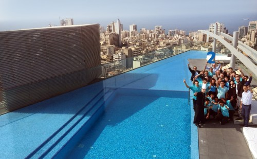 Staybridge Suites Beirut celebrated 2 years of success in the Lebanese market