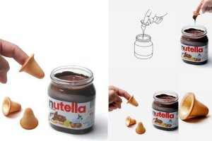 You Can Now Eat A Jar Of Nutella With Cookies That Fit On Your Fingers (Photos)