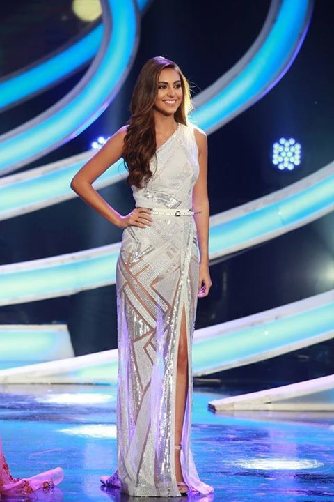 Valerie Abou Chacra crowned Miss Lebanon 2015-6