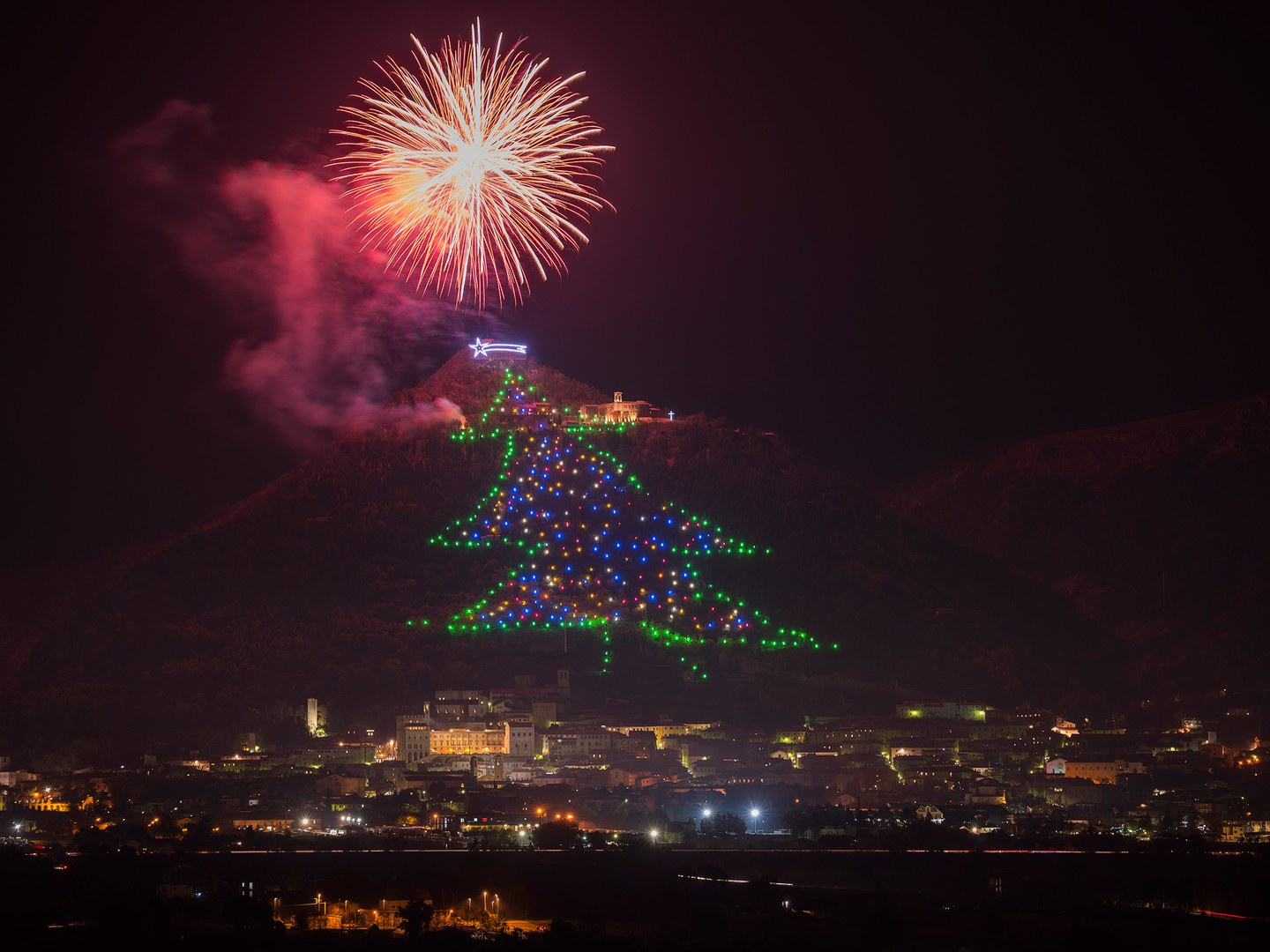 mount-ingino-christmas-tree-gubbio-umbria-italy