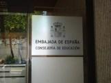 Glädjen som uppstår när vi springer förbi spanska ambasaden...