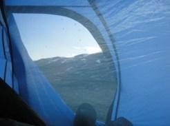 Galet mycket mygg vid tältplatsen