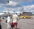 Litet flygplan från Halmstad