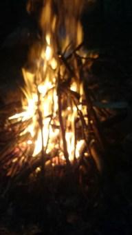 Vit mans eld är aldrig för stor...