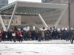 Arga Toronto-bor demostrerar