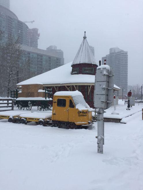 Gammla tåg i Toronto