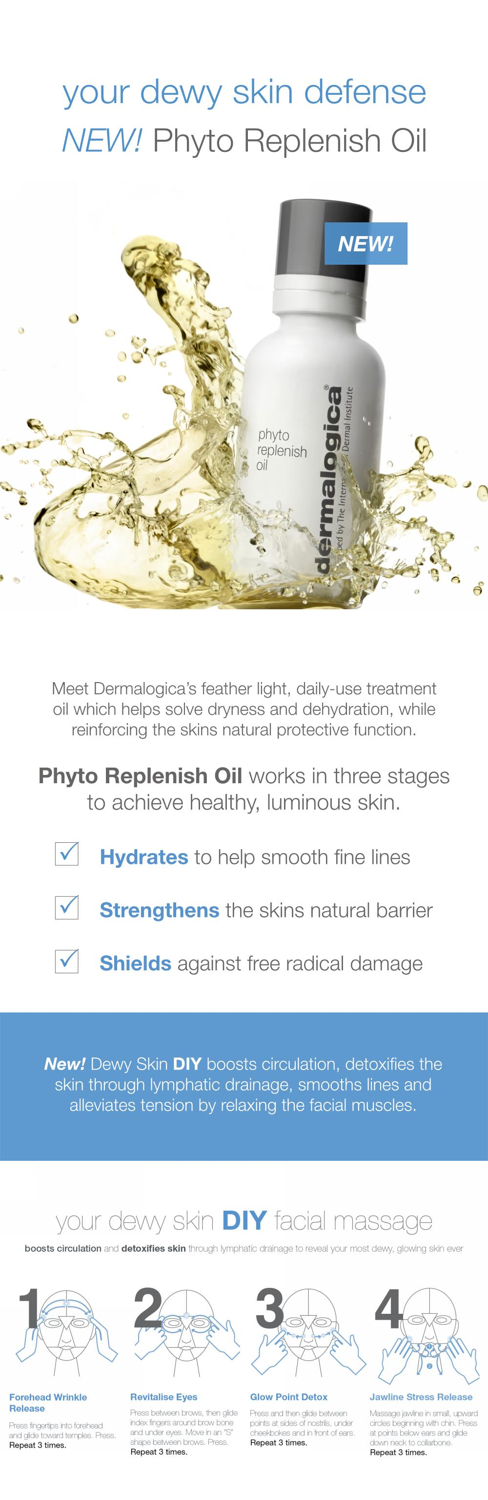 Dermalogica - Your Dewy Skin Defence - Phyto Replenish Oil
