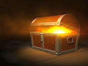 treasure chest bright
