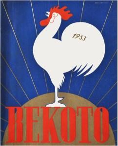 Couverture du Catalogue Bekoto - 1953