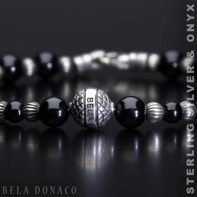 99sterling silver and onyx 1
