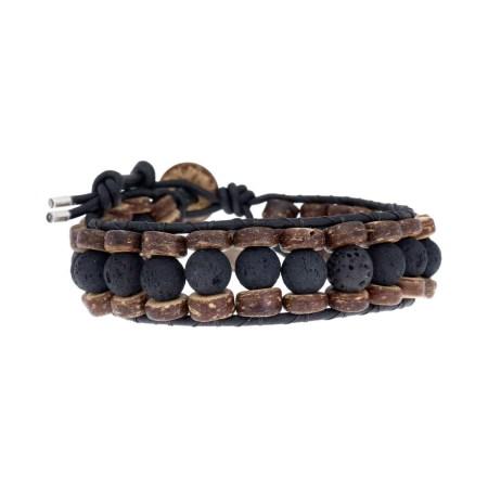 armband-classic-b8-zwart-lavasteen-kokos-leer-4