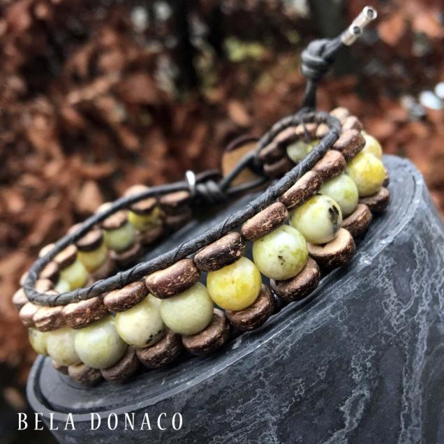 Gele Turquoise armband