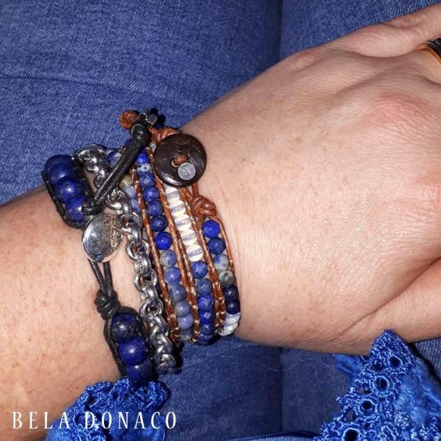 Een fan van de Blue Jeans collectie