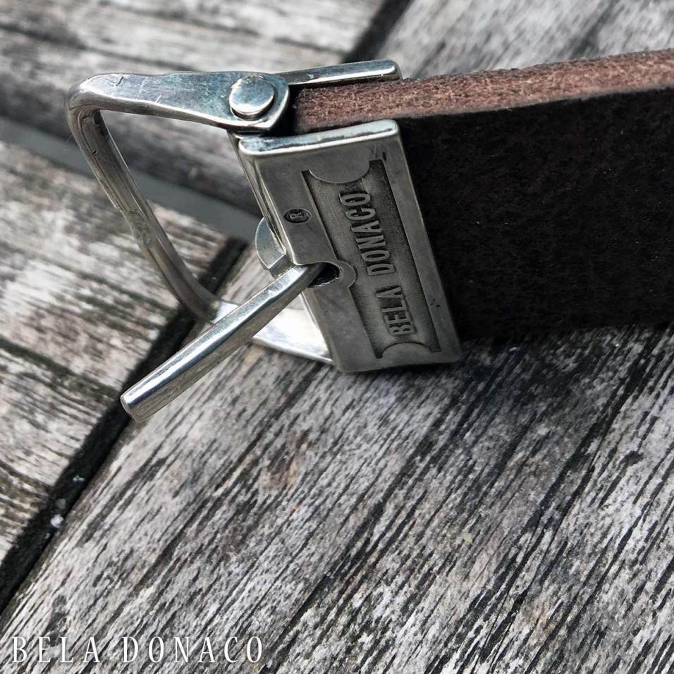 Ontwerp en realisatie van een Sterling Zilveren custom-made gesp