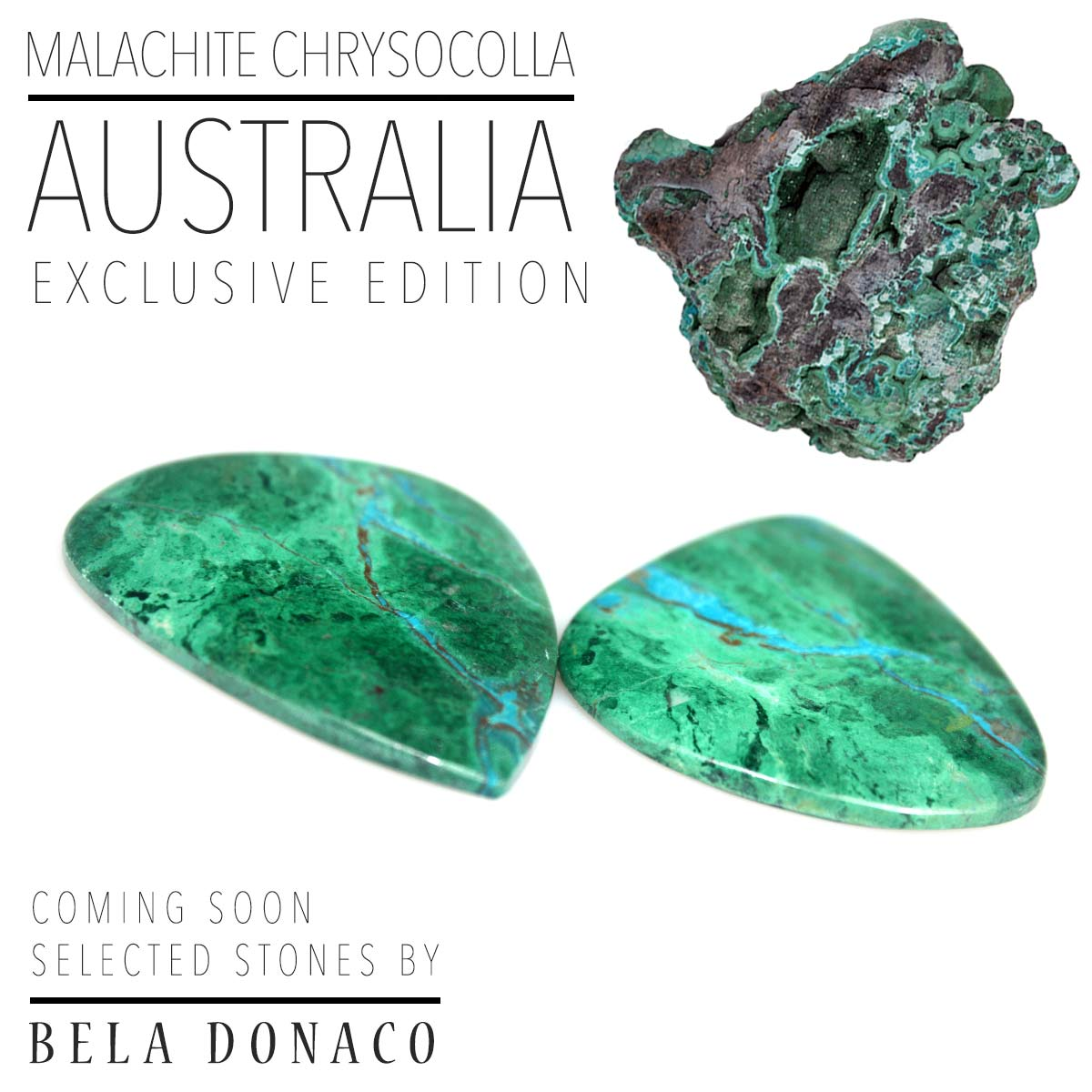 Malachite Chrysocolla from Australia