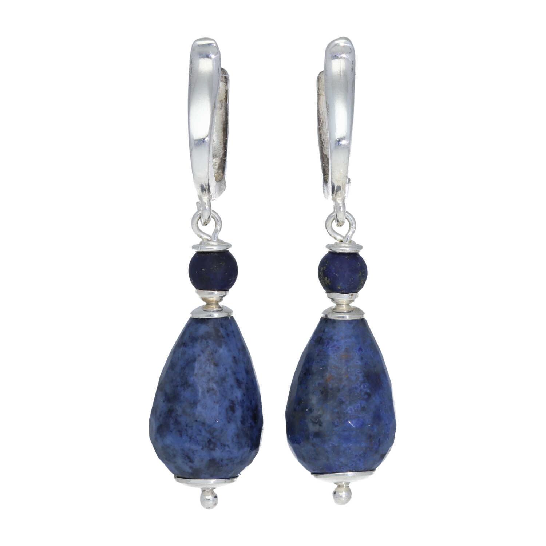 Oorbellen Blue Jeans Dumortieriet Lapis Lazuli Sterling Zilver-1