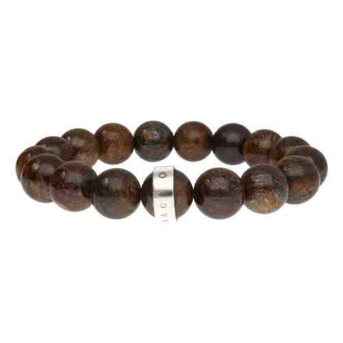 Armband Luxury B12 – Bronziet – Sterling Zilver