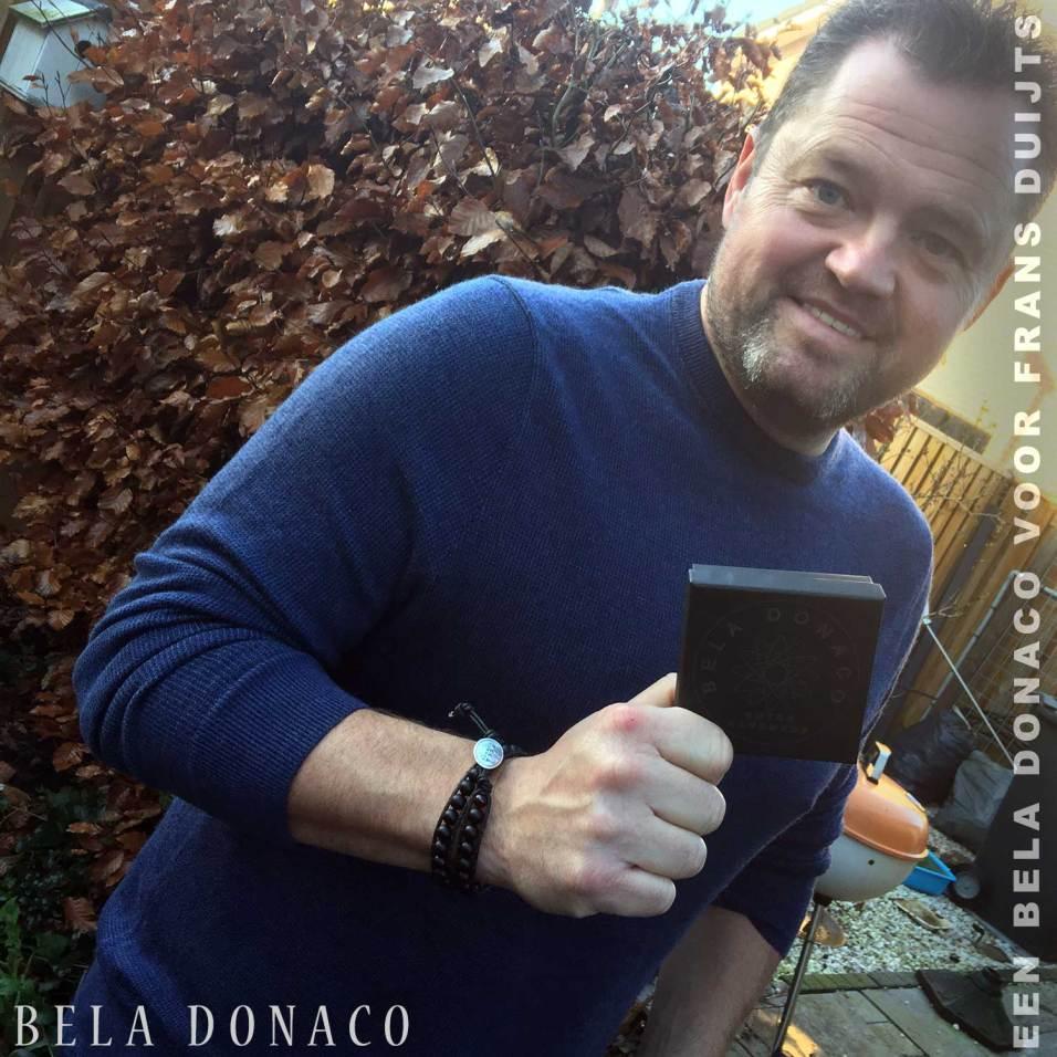 Leuk Frans Duijts met een Bela Donaco
