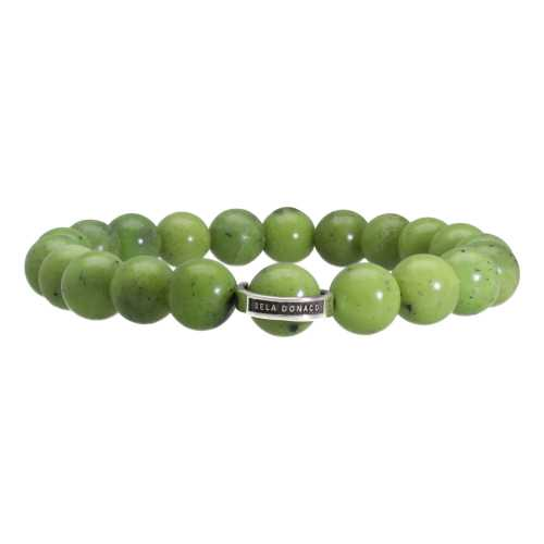 Armband Luxury B10 – Canadese Jade – Sterling Zilver